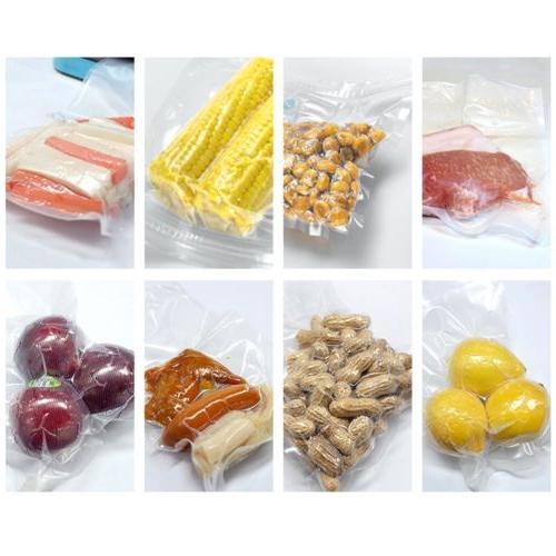 """100 8"""" x 12"""" Food Storage Freezer Bags Quart Sized 4Mil"""