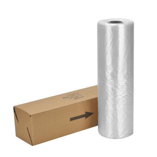 "12""x20'' Plastic Produce Bag Roll 350 Bags Fruit Vegetable"
