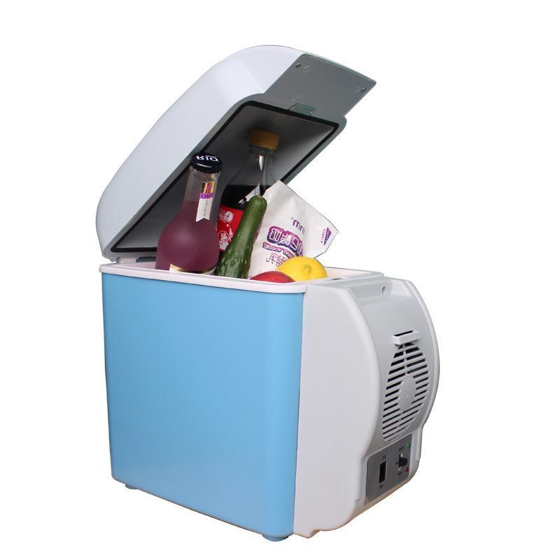 12V 7.5L Portable Car Refrigerator Dual-Use Electric <font><b>Fridge</b></font>