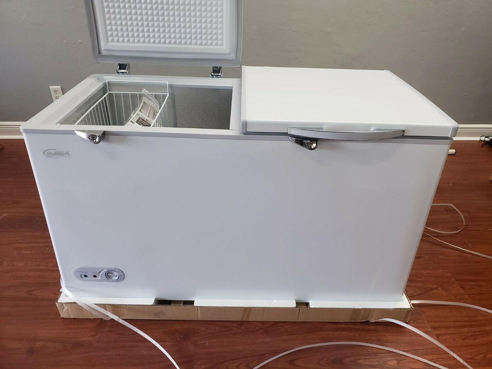 Premium New Chest Freezer. Adjustable & Keys