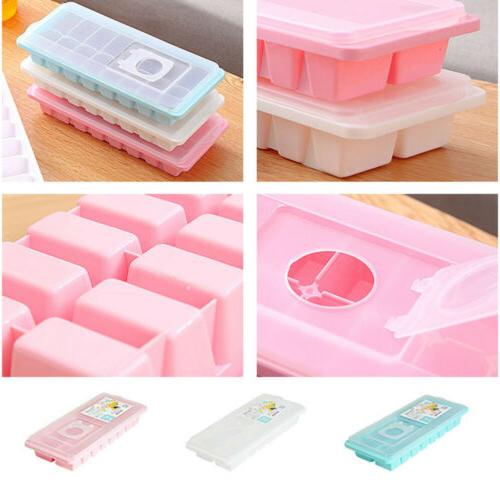 16 Cavity Tray With Lid Cover Mold