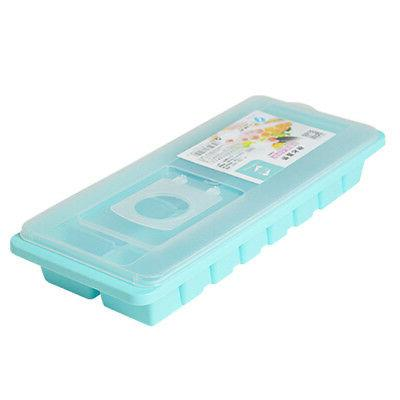 16 Tray Box w/ Lid Cover Drink Mold