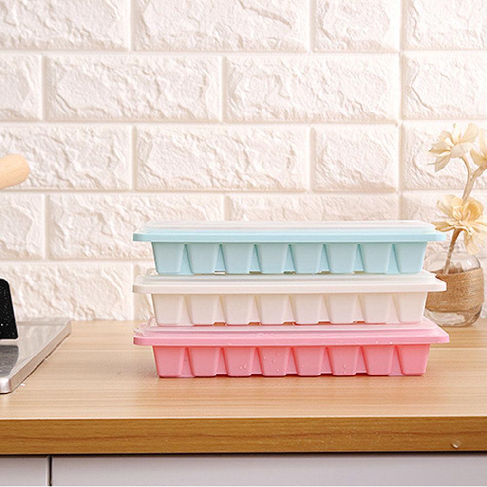 16 cavity ice cube tray box