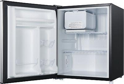 Galanz Single Door Freezer Conpact Stainless Steel