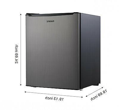 Galanz 2.7 Single Door Freezer Small Steel