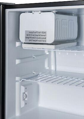 Galanz 2.7 Cu Single Door Mini Freezer Small Steel