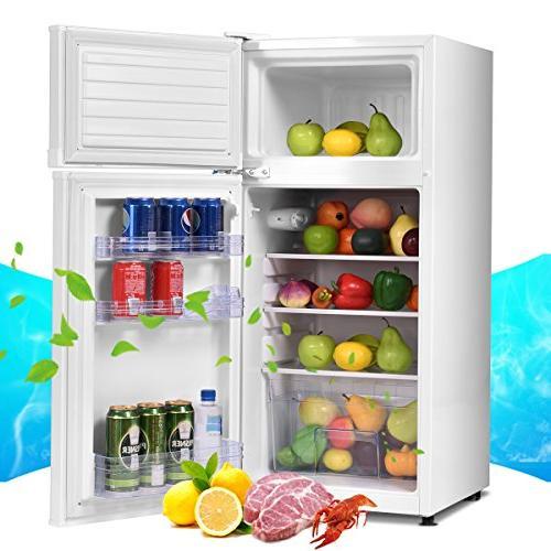 Costway cu. 2 Compact Refrigerator Freezer Cooler
