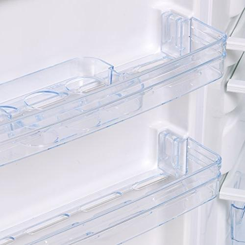 Costway 2 Compact Mini Refrigerator Freezer Cooler