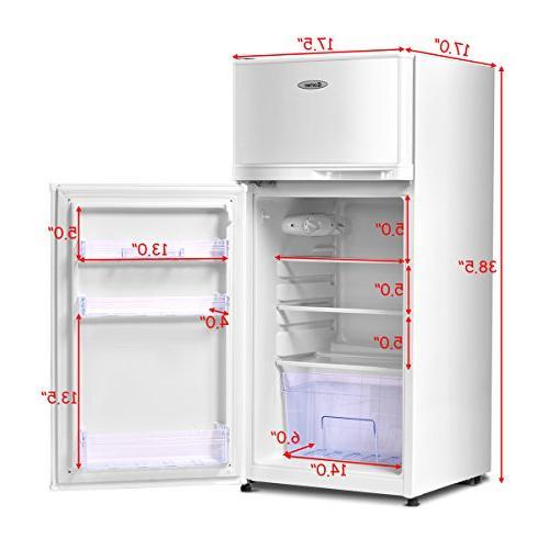 Costway 3.4 cu. Refrigerator