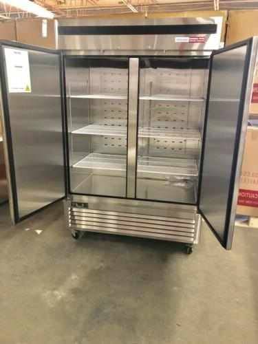 2 FREEZER FROZEN Stainless Double Reach In
