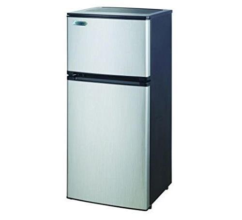 2 door mini compact refrigerator