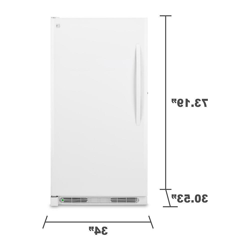 20.2 Cubic Foot Kenmore Upright With Energy Star