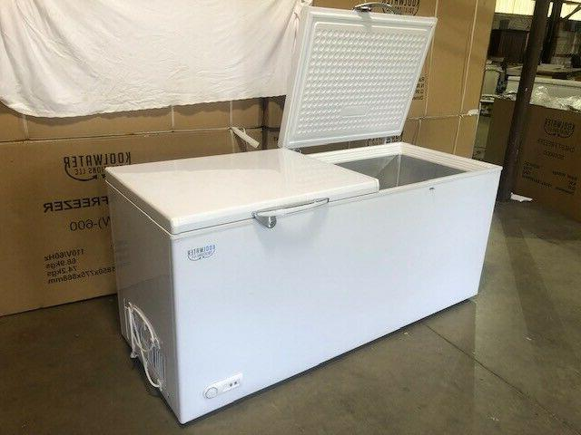 20 cu ft chest freezer white deep
