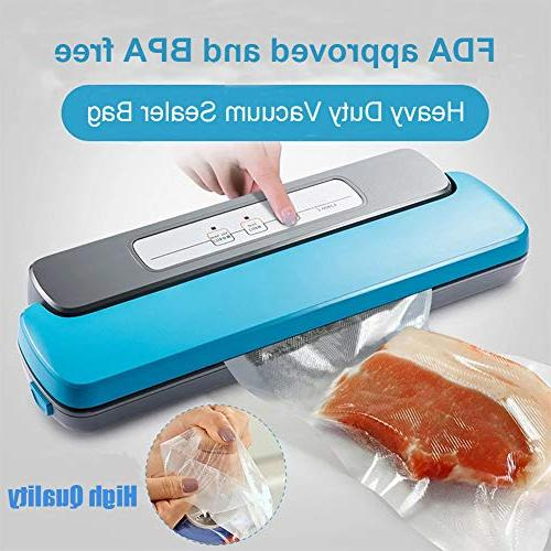 Two Vacuum Storage Saver FDA Approved and Seal Grade 11X50Vacuum Sealer - Make Own Size Bag!