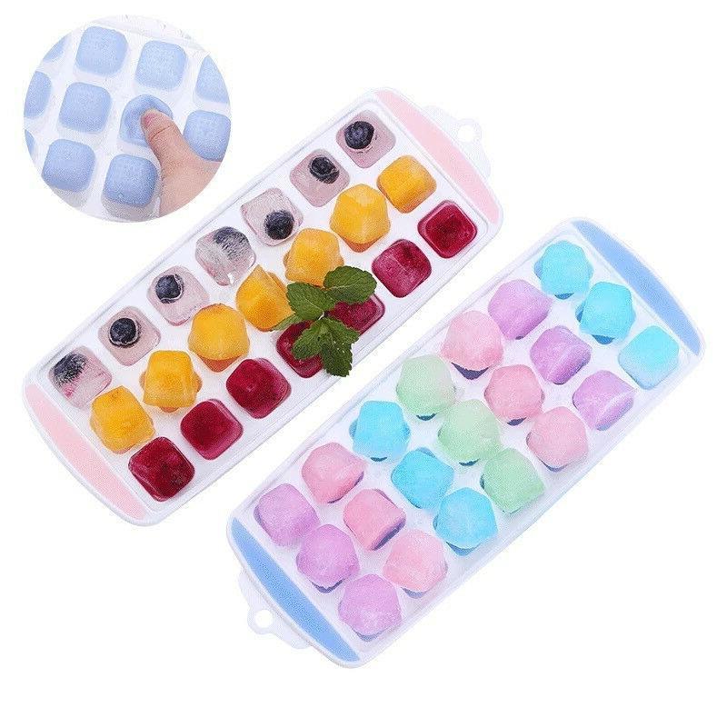 21 cavity ice cube tray box