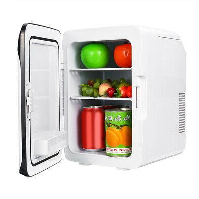 220V 12V 10L Mini Fridge Freezer Cooler Refrigerator