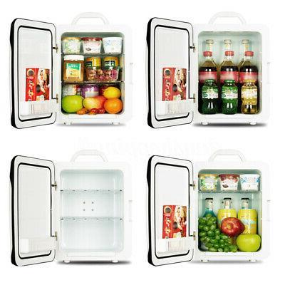 220V 10L Mini Freezer Cooler Refrigerator Office