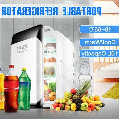 220v 12v 10l portable mini fridge freezer