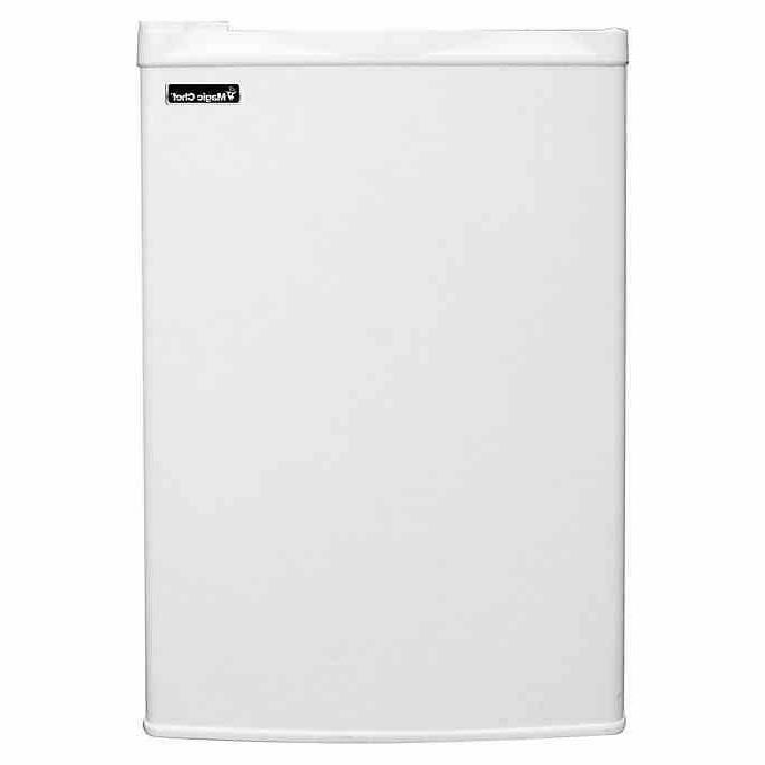 Magic ft Upright Freezer Compact Storage Home Dorm White