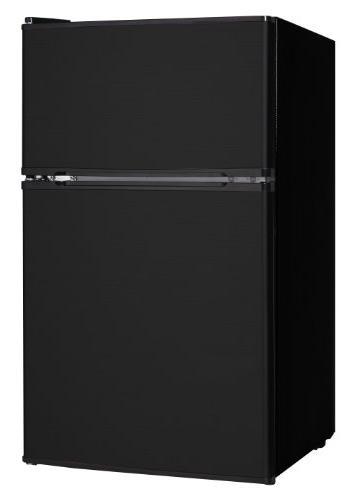 3 1cf refrigerator freezer black