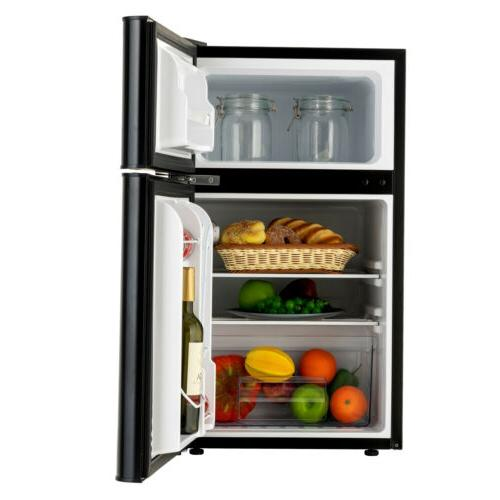 3.2 Cu Ft Refrigerator 2-Door Top Freezer