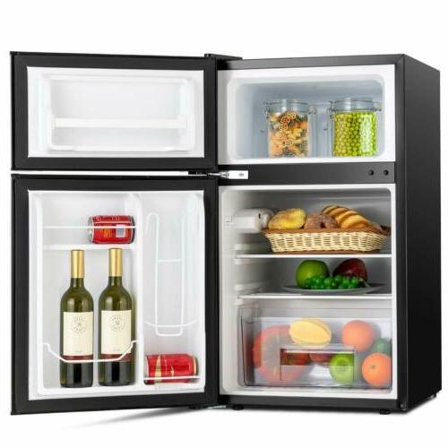 3.2 Refrigerator Top Freezer Box Black