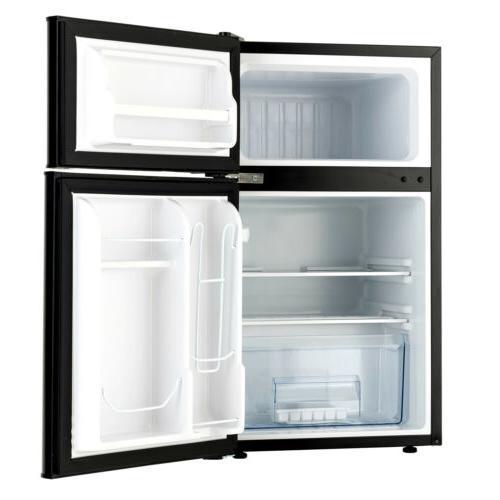 3.2 Ft Refrigerator 2-Door Top Freezer Box