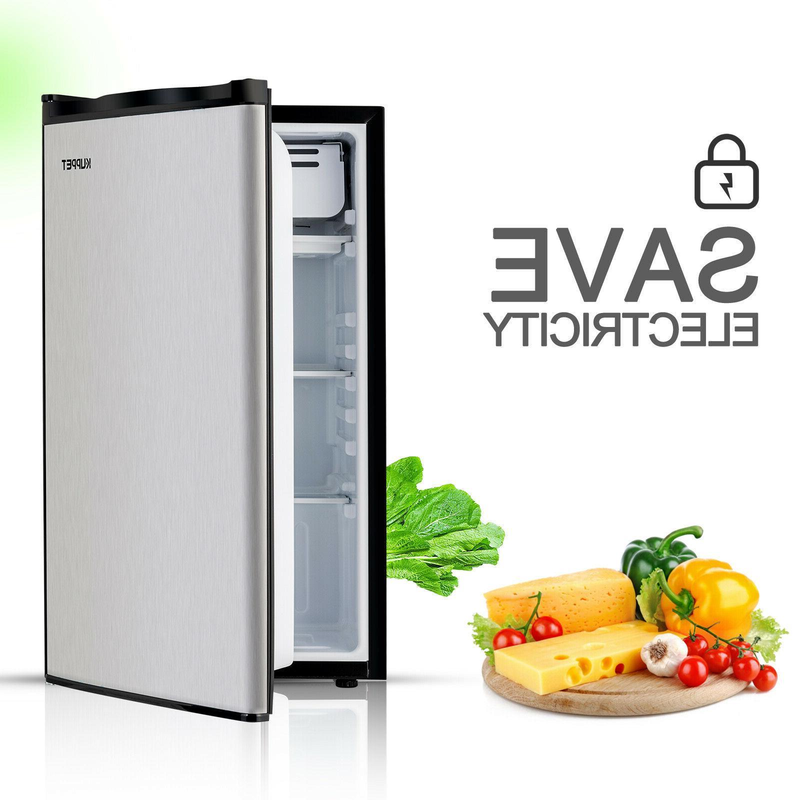 3.2 Mini Refrigerator Compact Black