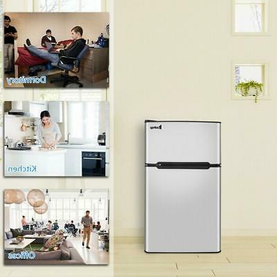 Mini Fridge Compact Refrigerator for Dorm Office