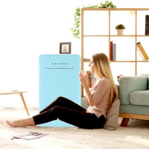 3.2 Cu Mini Refrigerator Compact Eco-friendly w/Chilling Box