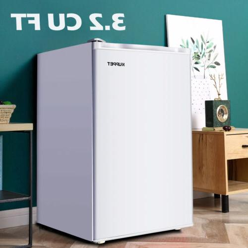 3.2 Cu.ft Mini Fridge Refrigerator Compact Freezer Freestand