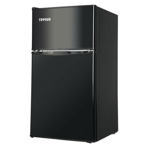 3.2 Cu Steel Mini Fridge Freezer