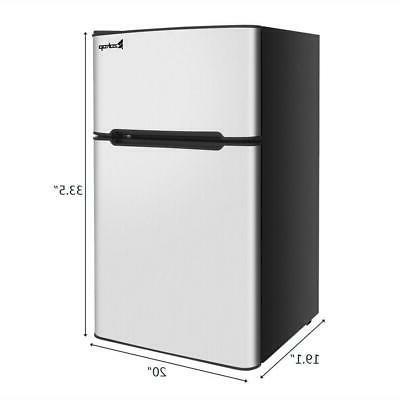 3.2 Cu Ft. Steel 2Door Freezer Cooler