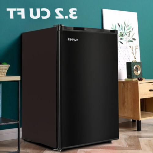 3.2 Cu Ft Mini Refrigerator Compact Fridge Freezer Freestand