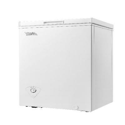 3 5 cu ft chest freezer white