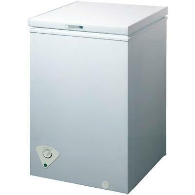3 5 cu ft white chest freezer
