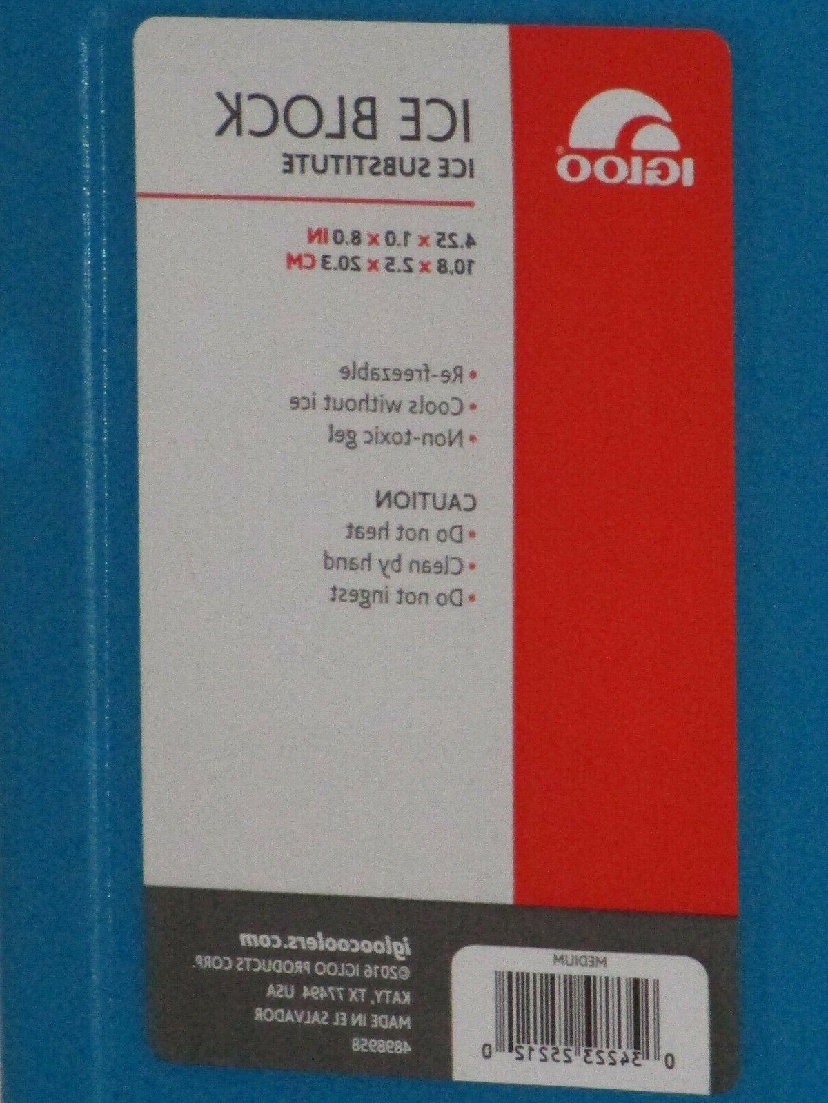 Igloo Pack Freezer Green/Blue 4.25 8 New