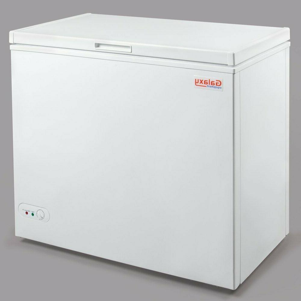 "30 3/8"" Cu. Ft. White Commercial Freezer"