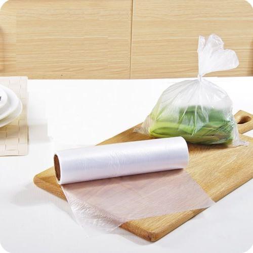 350 Bags / Plastic Clear Bag on Bread Fruit Vegetable