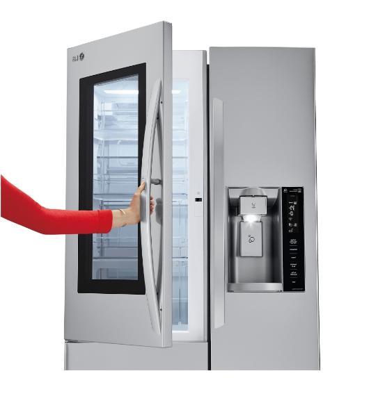 LG Inch Depth Refrigerator Steel LSXC22396S