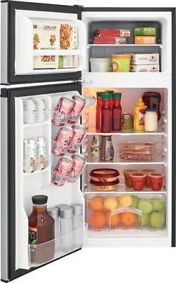 Frigidaire - 4.5 Ft. Refrigerator Silver