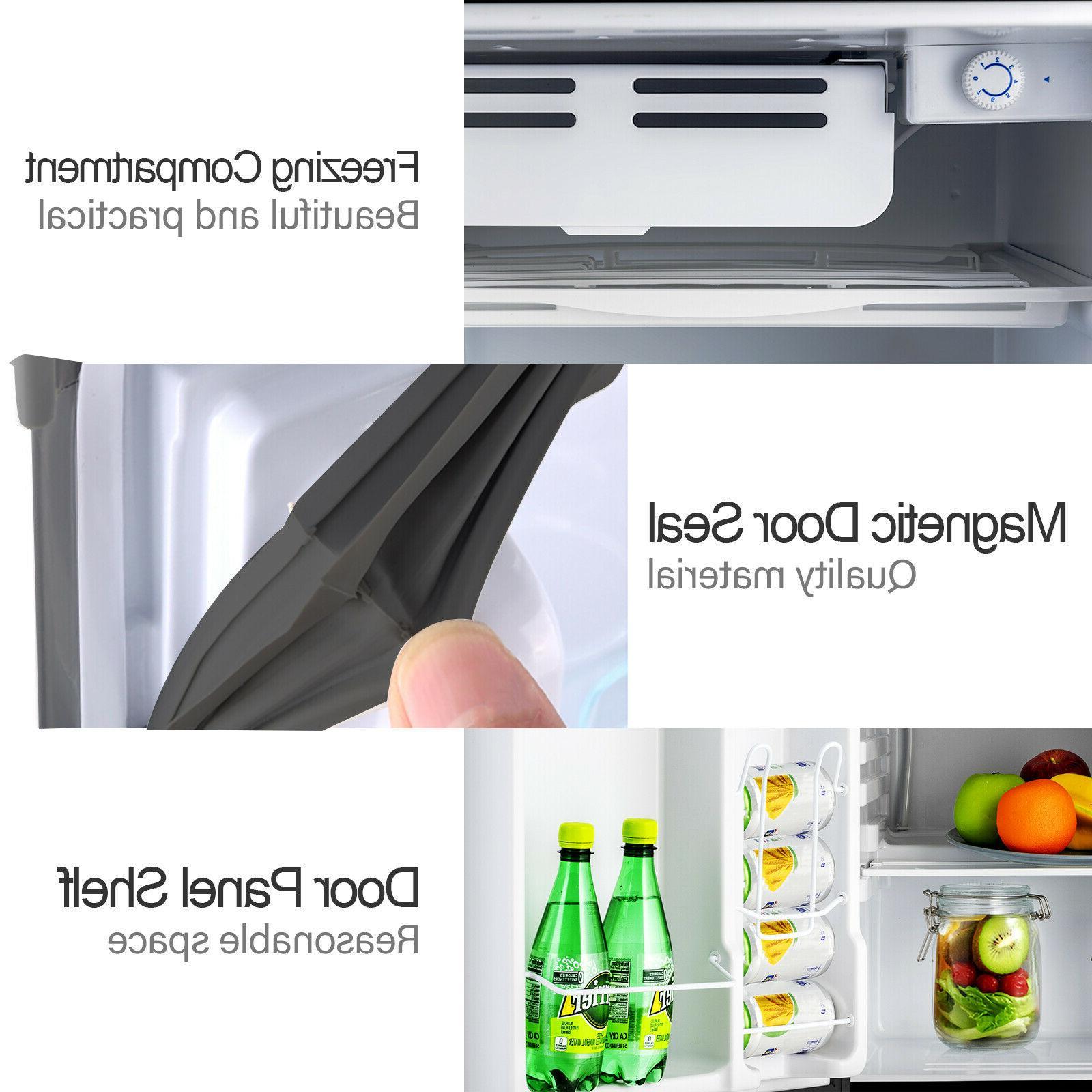 4.6 w/ Top Refrigerator Freestanding