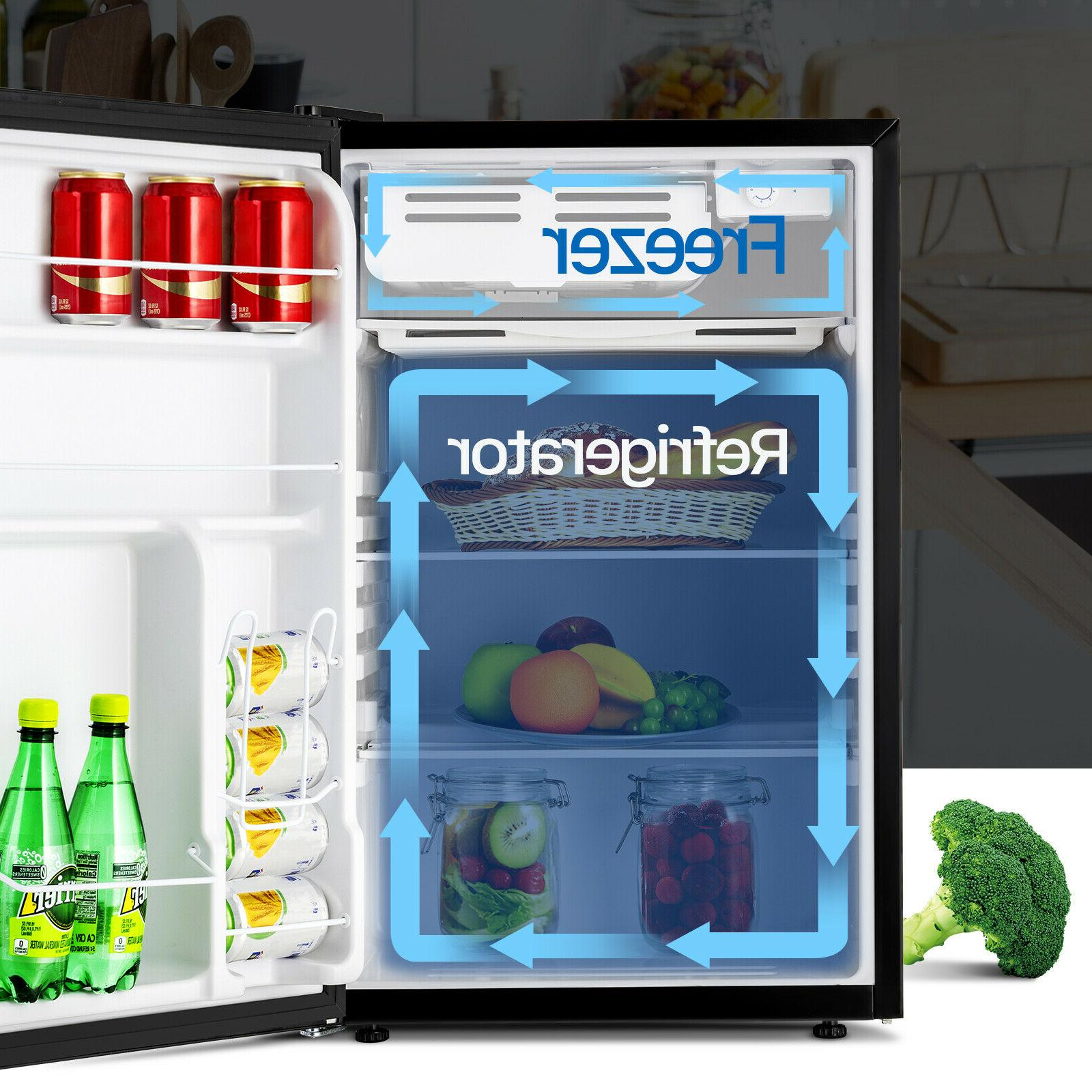 4.6 Cuft w/ Top Refrigerator Freestanding Dorm