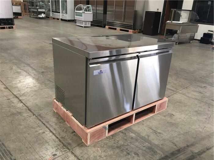 48 under counter freezer commercial 2 door