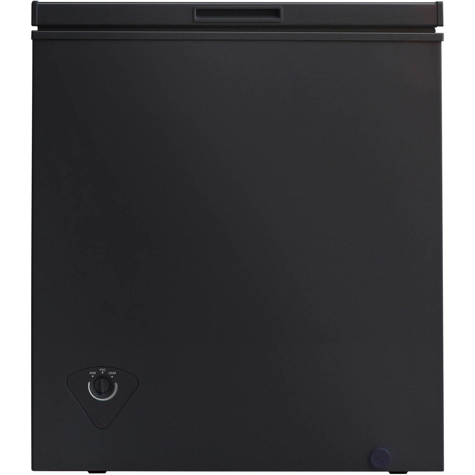 5.0 cu Deep Freezer Dorm Home Black NEW