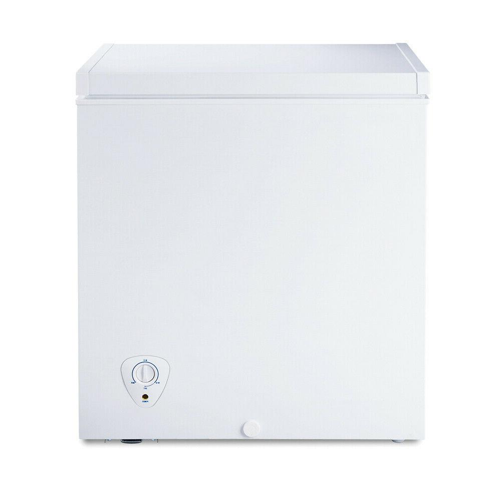 Smad Compact 5.0 cu.ft Chest Freezer Water Drain Garage Kitc