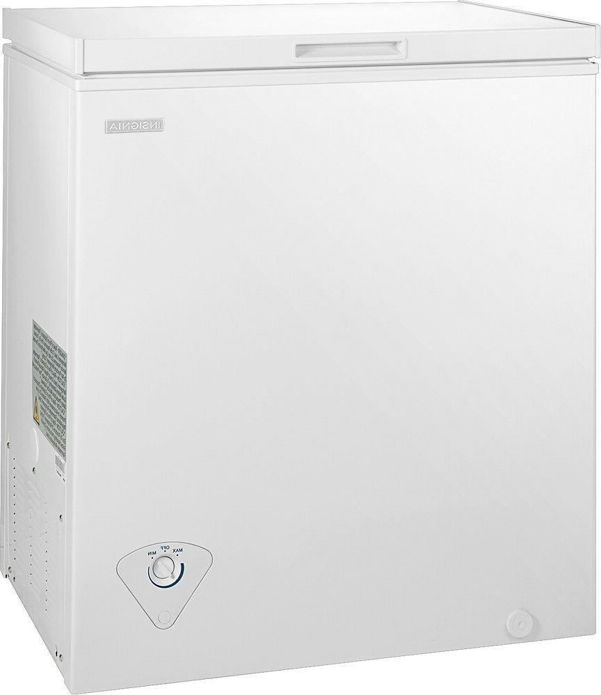 5 0 cubic feet chest freezer white