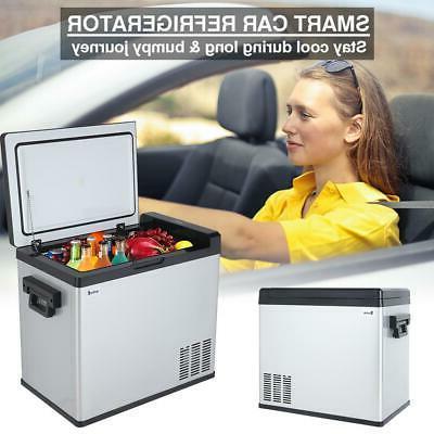 54 qt portable mini fridge freezer car