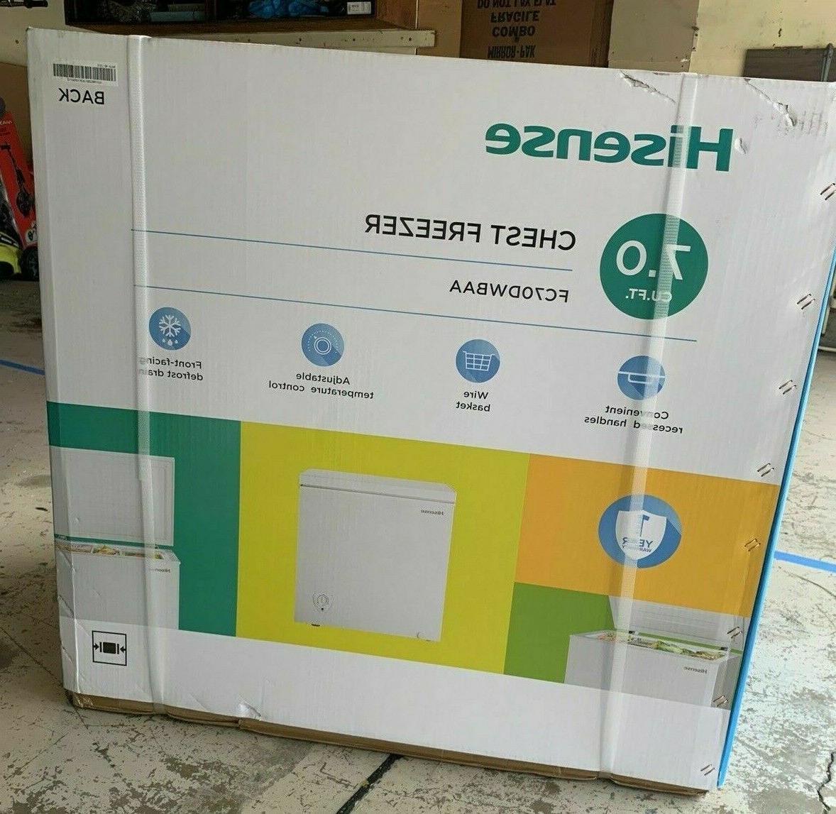 Hisense Chest Freezer -