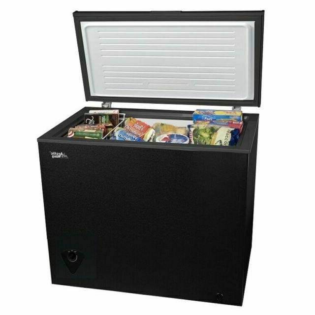 arc070s0arbb 7 cu ft chest freezer black